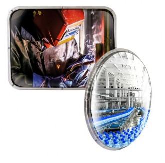 Miroir de sécurité pour environnements contraints - Devis sur Techni-Contact.com - 1