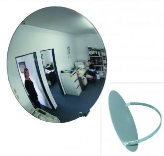 Miroir de surveillance monté sur arceau métallique - Devis sur Techni-Contact.com - 1