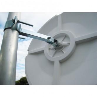 Miroir de surveillance multi-usages cadre blanc - Devis sur Techni-Contact.com - 4