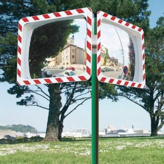 Miroir de surveillance polyvalent cadre vert - Devis sur Techni-Contact.com - 9