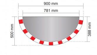 Miroir industrie 3 directions - Devis sur Techni-Contact.com - 2