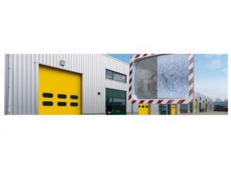Miroir de sécurité avec cadre - Devis sur Techni-Contact.com - 5
