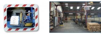 Miroir de sécurité avec cadre - Devis sur Techni-Contact.com - 6