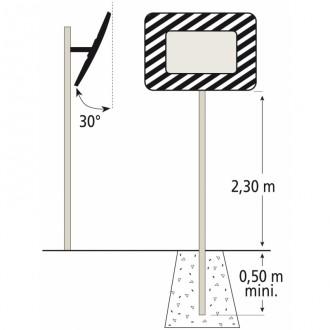 Miroir industriel avec message d'avertissement - Devis sur Techni-Contact.com - 3