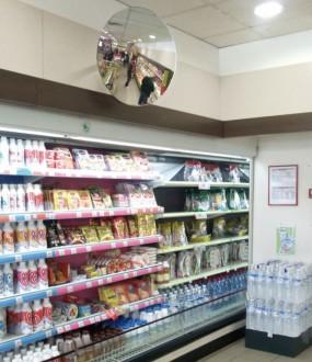 Miroir pour magasin à fixation flexible - Devis sur Techni-Contact.com - 1