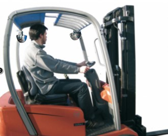 Miroir rétroviseur pour chariots élévateurs - Devis sur Techni-Contact.com - 4