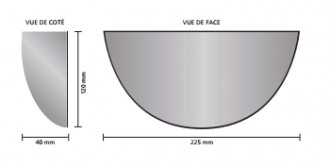 Miroir rétroviseur pour chariots élévateurs - Devis sur Techni-Contact.com - 5