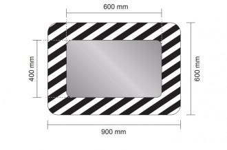 Miroir routier à fixation universelle - Devis sur Techni-Contact.com - 3