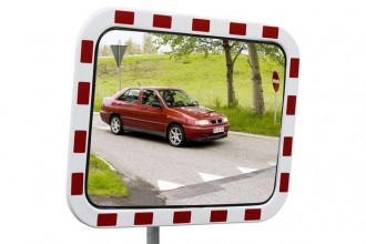 Miroir routier en polycarbonate - Devis sur Techni-Contact.com - 1