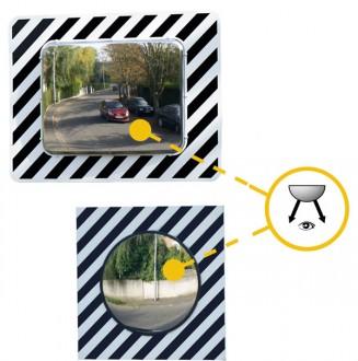 Miroir routier incassable - Devis sur Techni-Contact.com - 2