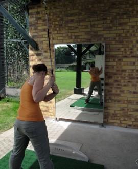 Miroir de danse sur pied d'extérieur - Devis sur Techni-Contact.com - 1