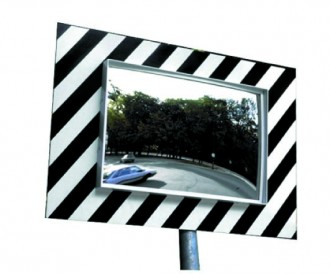 Miroirs de sécurité rectangulaire - Devis sur Techni-Contact.com - 1