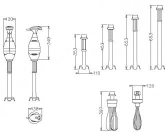 Mixer portatif plongeant - Devis sur Techni-Contact.com - 2