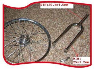Monocycle en acier chromé - Devis sur Techni-Contact.com - 2