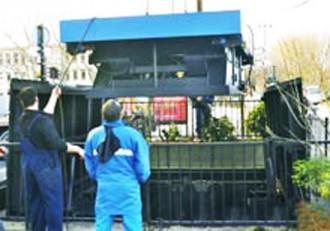 Monte charge électrique pour déchets - Devis sur Techni-Contact.com - 2
