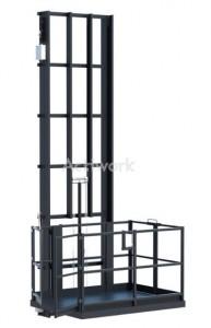Monte-charge électro-hydraulique simple colonne - Devis sur Techni-Contact.com - 1