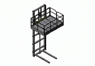 Monte charge hydraulique 2T - Devis sur Techni-Contact.com - 1