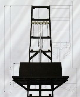 Monte charge hydraulique à colonnes - Devis sur Techni-Contact.com - 1