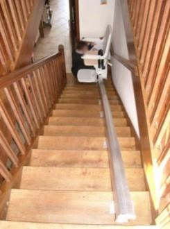 Monte escalier droit - Devis sur Techni-Contact.com - 2