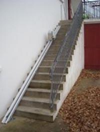 Monte escalier droit extérieur - Devis sur Techni-Contact.com - 2