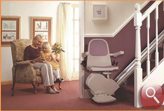 Monte escalier droit pour intérieur - Devis sur Techni-Contact.com - 2