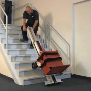 Monte-escalier électrique avec élévateur - Devis sur Techni-Contact.com - 2