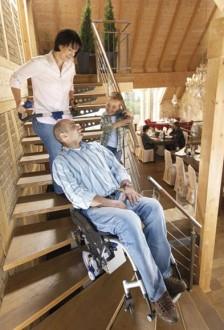 Monte escalier électrique pour fauteuil roulant - Devis sur Techni-Contact.com - 4