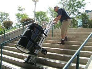 Monte-escalier électrique pour fût - Devis sur Techni-Contact.com - 1