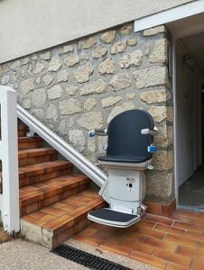 Monte escalier extérieur - Devis sur Techni-Contact.com - 2