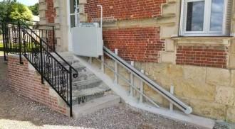 Monte escalier PMR - Devis sur Techni-Contact.com - 2