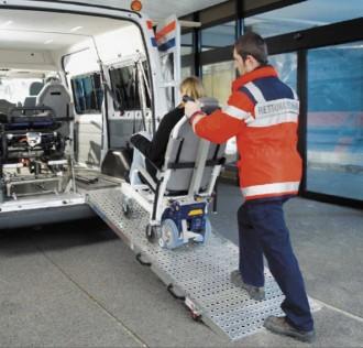 Monte escalier pour service d'urgence - Devis sur Techni-Contact.com - 2