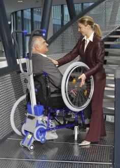 Monte escalier standard pour fauteuil roulant - Devis sur Techni-Contact.com - 3