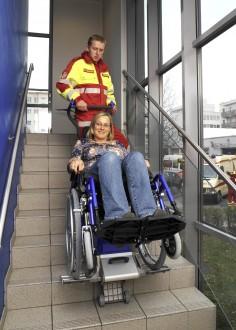 Monte escalier universel pour fauteuil roulant - Devis sur Techni-Contact.com - 2