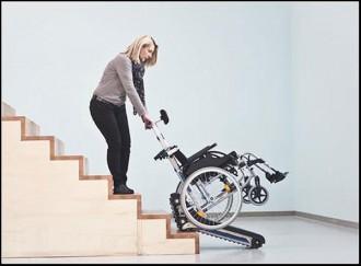 Monte escaliers à chenillettes pour fauteuil roulant - Devis sur Techni-Contact.com - 3