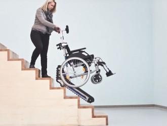 Monte escaliers à chenillettes pour fauteuil roulant - Devis sur Techni-Contact.com - 4