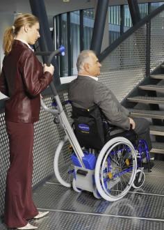 Monte-escaliers à fauteuil roulant intégré - Devis sur Techni-Contact.com - 2