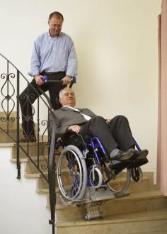 Monte-escaliers à fauteuil roulant intégré - Devis sur Techni-Contact.com - 3
