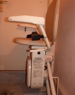 Monte-escaliers tournant double rails - Devis sur Techni-Contact.com - 1