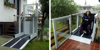 Monte handicapé plateforme verticale - Devis sur Techni-Contact.com - 2