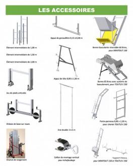 Monte matériau emboitable - Devis sur Techni-Contact.com - 4