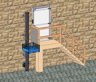 Monte matériaux 150 kg et 250 kg - Devis sur Techni-Contact.com - 1