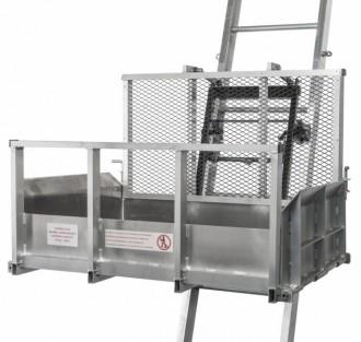 Monte matériaux de chantier aluminium renforcé 250 Kg - Devis sur Techni-Contact.com - 14