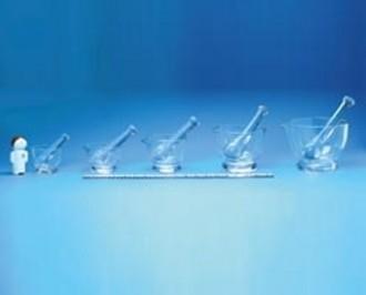 Mortier et pilon en verre 240 ml - Devis sur Techni-Contact.com - 1