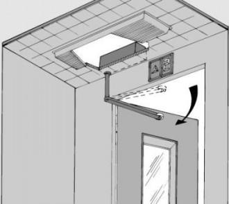 Motorisation pour portes battantes d'ascenseur - Devis sur Techni-Contact.com - 1