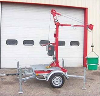 Multi grue mobile 250 kg - Devis sur Techni-Contact.com - 2