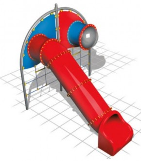 Multi jeux avec toboggan tunnel - Devis sur Techni-Contact.com - 1