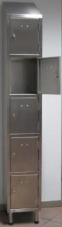 Multicases 5 portes inox - Devis sur Techni-Contact.com - 1