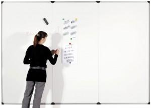 Mur d'écriture et d'affichage magnétique 200 x 100 cm - Devis sur Techni-Contact.com - 2
