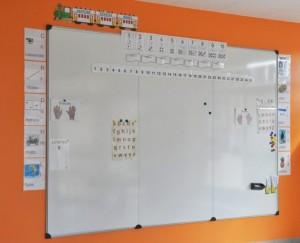 Mur d'écriture et d'affichage magnétique 200 x 100 cm - Devis sur Techni-Contact.com - 3