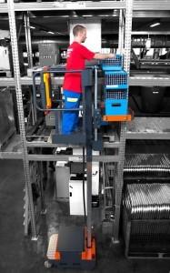 Nacelle 5 m préparateur de commande - Devis sur Techni-Contact.com - 4